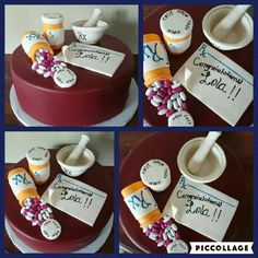 Pharmacy Graduation Cake