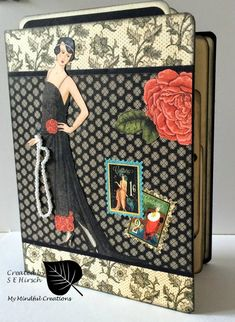 I have another altered file folder album / journal that I would like to share with all of you. For this album, I used Graphic 45's Coutur...
