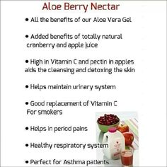 Put a stop to #period #pain. More benefits of Aloe Berry Nectar.