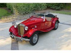 1950 MG TD - wanted one, but was too round for it.