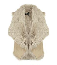 Ralph Lauren Black Label shearling vest