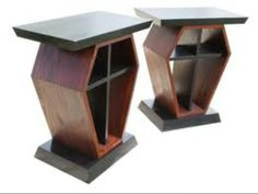 Coffin End Tables