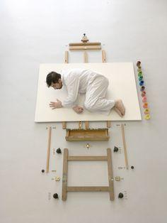 """Artist Reborn"" #arte #art #artist #comntemporaryart #photografy #artphotografy #atelier #artist #painting #paint"
