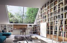 Bücherwand hülsta mega design