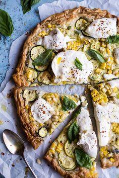 29 recetas de pizza dignas de Instagram para probar en casa Pizza Recipes, Vegetarian Recipes, Dinner Recipes, Healthy Recipes, Flatbread Recipes, Corn Recipes, Truffle Oil, Deep Dish, The Fresh