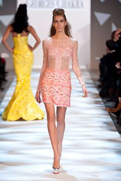 Georges Chakra Spring 2013 Couture