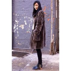 Model Jihye Park strolling NYC in her Fenton booties. #howwewearLR