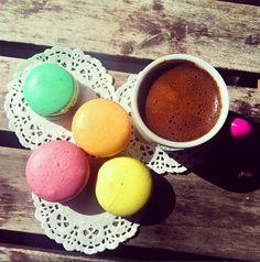 kahve tutkum, macaron