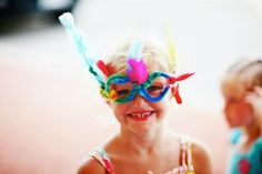 fun kids new year's eve party idea...  crazy pipe cleaner glasses!