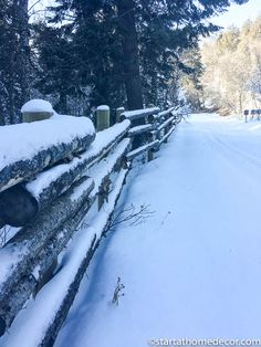 Beautiful Utah Winter Wonderland on our snowmobile trip