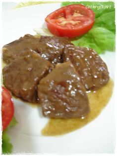 Cooking & Art by Marion: Μοσχάρι ''γλυκό'' κρασάτο / Veal with sweet red wine Steak, Healthy Recipes, Healthy Foods, Beef, Red Wine, Cooking, Health Foods, Meat, Cucina