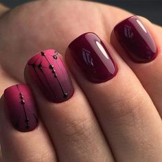 Choosing between countless burgundy nails ideas is a tough job. But, hey, you have… - https://makeupaccesory.com/choosing-between-countless-burgundy-nails-ideas-is-a-tough-job-but-hey-you-have-20/