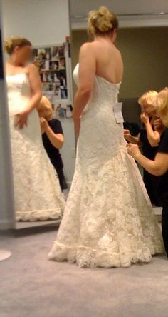 So I recently purchased my wedding dress and it has a chapel length LACE train. I'm trying to picture what kind of bustle will look best. Wedding Dress Bustle, Lace Mermaid Wedding Dress, Wedding Gowns, Lace Dress, Dress Up, Lace Wedding, Yes To The Dress, Wedding Styles, Wedding Ideas