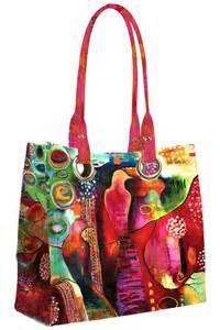 """PAPAYA ART Sac de Luxe """"Flora Bowley Jewelled bird"""""""