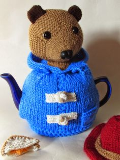 TeaCosyFolk launch their latest tea cosy design; the Paddington Bear Tea Cosy with removable hat and marmalade sandwich http://www.teacosyfolk.co.uk/show.php?id=60