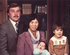 1982 Church picture of the Tim Lakers family