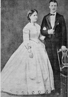 Crown Princess Isabel of Brazil and husband Prince Louis Gaston d'Orleans