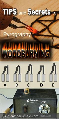 The ultimate guide to pyrography (wood burning).