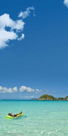 Virgin Islands National Park on St John. Trunk Bay.