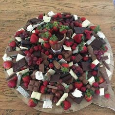 #ohmy Chocolate Grazing Platter anyone? Spotted via Chic by Accident Homewares