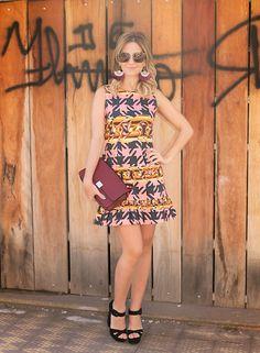 Look do dia   Print to love! Trend Alert Mariza Moreno Looks Look do Dia Lili Analoren