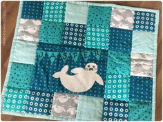 Zum Kuscheln für den Babybuben {Patchworkdecke} | Bea's Kreativblog - genäht für…