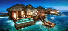 First in the Caribbean: All-Inclusive Overwater Bungalows