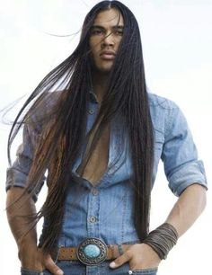 Native American fantasy!! Drool