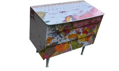 Small Map Chest - Bryonie Porter