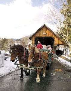 Christmas in Vermont - Wassailing Weekend in Woodstock, Vermont - Country Living