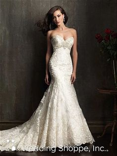 Bridal Gowns Allure  9051 Bridal Gown Image 1