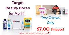 Woohoo!  The APRIL TARGET BEAUTY BOX is here and ONLY $7.00 shipped! 2 choices this month! Don't miss out!  Click the link below to get all of the details ► http://www.thecouponingcouple.com/10-item-target-beauty-box-only-10-shipped-go-now/ #Coupons #Couponing #CouponCommunity  Visit us at http://www.thecouponingcouple.com for more great posts!