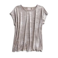 Holiday Stylist picks: Metallic tee- Love this for layering and the color! Stitch Fix App, Stitch Fit, Fasion, Fashion Outfits, Runway Fashion, Casual Outfits, Women's Fashion, Fashion Trends, Metallic Tees