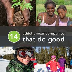 Most Americans want their retailers to support social good. And most Greatist readers buy athletic wear from time to time. So we've rounded up a list of the most socially conscious sportswear companies, so you know which ones truly deserve your hard earned dollar.