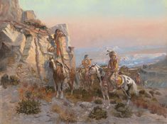 Sid Richardson Museum: Trouble Hunters by Charles M. Russell