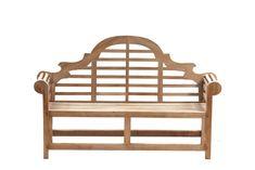 Lutyens 3 Seater Teak Garden Bench