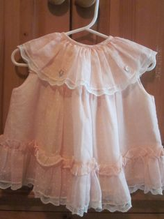 Vintage baby dress...so sweet!