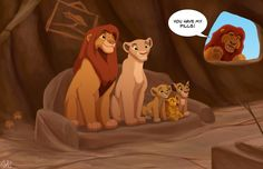 The Lion Family by TC-96.deviantart.com on @DeviantArt