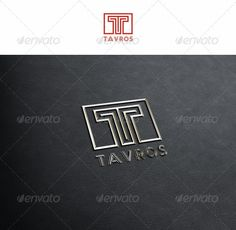 T Tavros - Logo Design Template Vector #logotype Download it here: http://graphicriver.net/item/t-tavros/2373541?s_rank=1131?ref=nexion