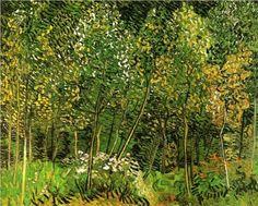 The Grove Vincent van Gogh Painting, Oil on Canvas Auvers-sur-Oise, France… Vincent Van Gogh, Art Van, Van Gogh Arte, Van Gogh Pinturas, Artist Van Gogh, Arte Country, Van Gogh Paintings, Dutch Painters, Van Gogh Museum