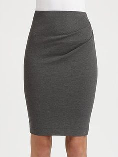 Donna Karan Pull-On Pencil Skirt