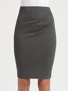 Donna Karan Pull-On Pencil Skirt
