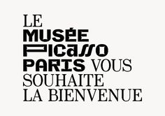 Julien Lelièvre – Proposed variable identity for Musée Picasso Paris, 2013