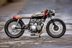 Honda CB550 Cafe Racer by Fate Customs #motorcycles #caferacer #motos | caferacerpasion.com