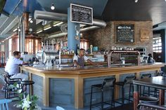 Bar area at Devil's Peak Brewing Company Bar Areas, Brewing Company, Cape Town, Craft Beer, Brewery, Home, Ad Home, Homes, Home Brewing