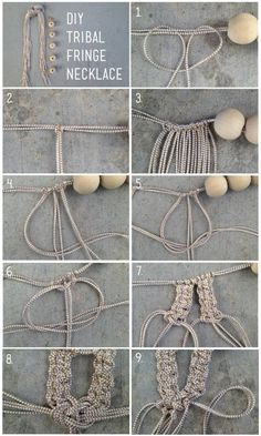 DIY tribal fringe
