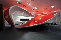 Vodafone CEC by IO Studio, Futuristic Interior [Future Architecture: http://futuristicnews.com/category/future-architecture/ Futuristic Furniture: http://futuristicshop.com/category/futuristic-furniture/]