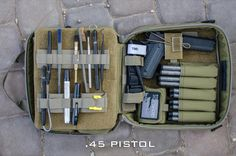 GORUCK Pistol Case - Large Caliber Setup