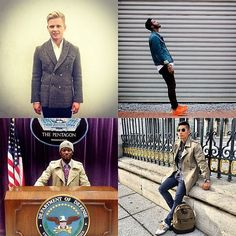 Some interesting entrants in this week's best and worst dressed men of Instagram. Seems there was no shortage of dapper chaps in double breasted jackets, as w