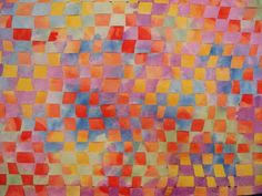 Warm and Cool Woven Watercolors